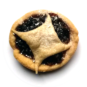 One delicious, home-made, mincepie
